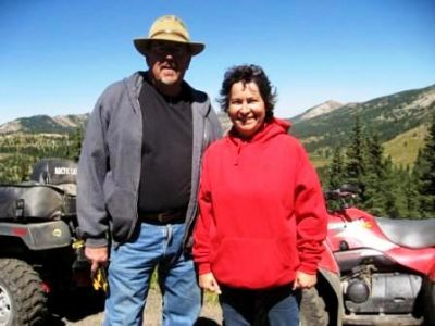 Gene & Jo on Hagerman Pass 2010