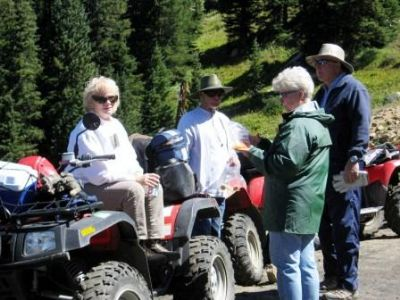 Phyllis, Davey, Carolyn & Bill on Hagerman Pass 20